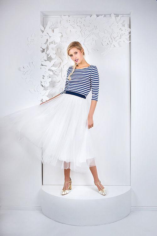 Brautmode Kollektion Les Jeunes 2017 Modell Lou