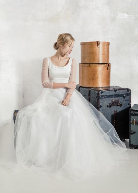 Brautmode Kollektion Brautkleider 2016 Modell Bernadette