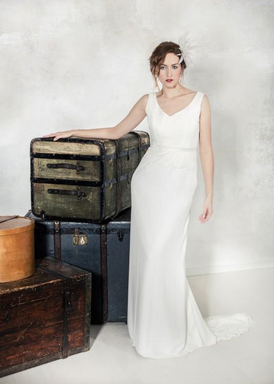Brautmode - Kollektion Brautkleider 2016 - Modell Michelle